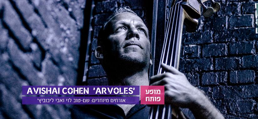 אבישי כהן בהופעה בפסטיבל הג'אז באילת
